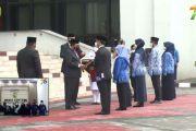 Upacara HUT Mahkamah Agung RI ke-76 di Pengadilan Agama Kuala Tungkal